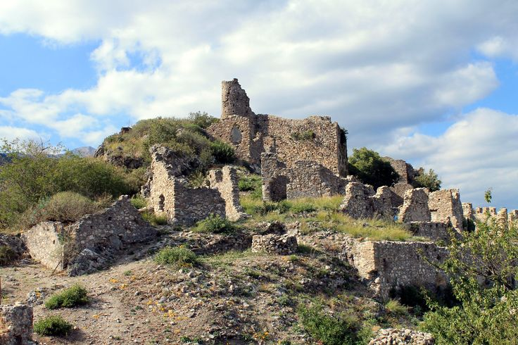 Ruins at Μυστράς (Mystras) in Μυστράς, Λακωνία