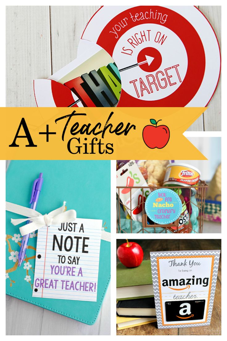 25 teacher appreciation gifts that teacher will love in