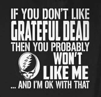 AND IF YOU DON'T LIKE THE DEAD I INSIST YOU DON'T LIKE ME!!!
