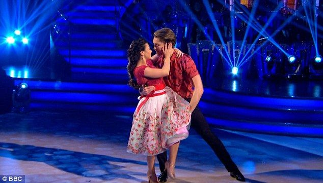 Not sure? Gymnast Claudia Fragapane was up next dancing the waltz with the latest pro to join the crew - AJ Pritchard. They danced to Debby Boone's 1977 hit You Light Up My Life