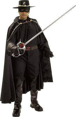Men Costumes: Rental Collectors Zorro Grand Heritage Adult Costume Fancy Suit BUY IT NOW ONLY: $175.0