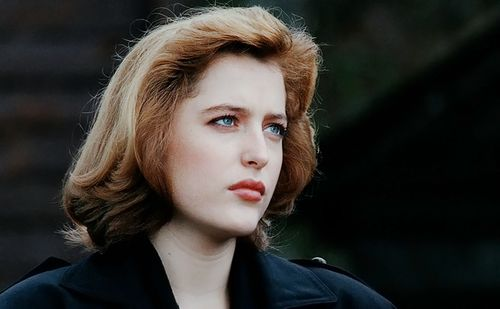 the x-files, 90s, and dana scully image