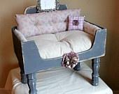 Dog or Cat Bed by designercraftgirl on Etsy