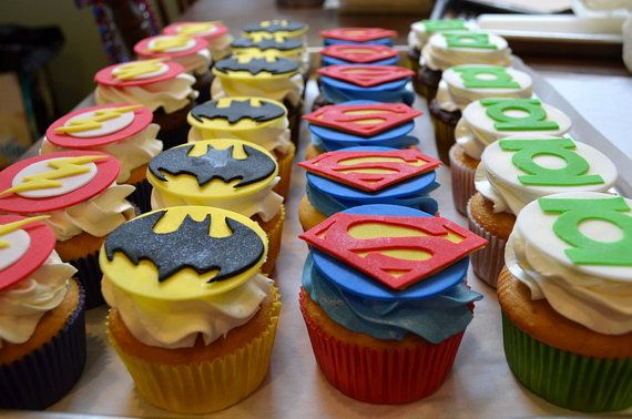 Looking for that special touch to complete your little Super Heros party? Look no further! These fondant cupcake toppers are completely