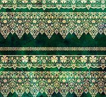Кружева узор ткани с цветами и кружева гранж фон стиле винтаж по fuzzyfox