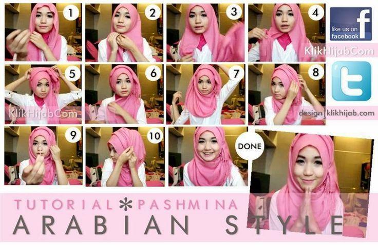 Tutorial Hijab Pashmina Simple Part I | 1001 Tutorial Hijab