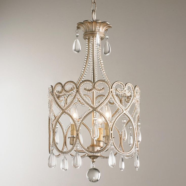 1000 ideas about mini chandelier on pinterest bathroom - Small crystal chandelier for bathroom ...
