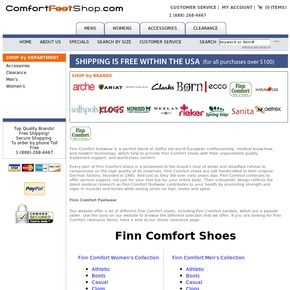 Browse our website to find the best Finn Comfort shoes and Finn Comfort footwear, including Finn Comfort sandals.
