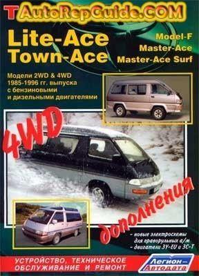 Download Free Toyota Lite Ace Town Ace 1985 1996 Repair Manual Image By Autorepguide Com Repair Manuals Repair And Maintenance Repair