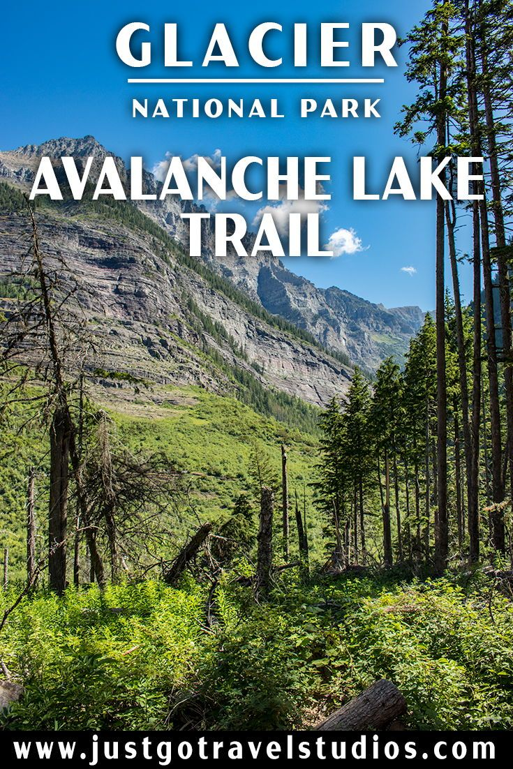 Just Go to Glacier National Park – Hiking the Avalanche Lake Trail