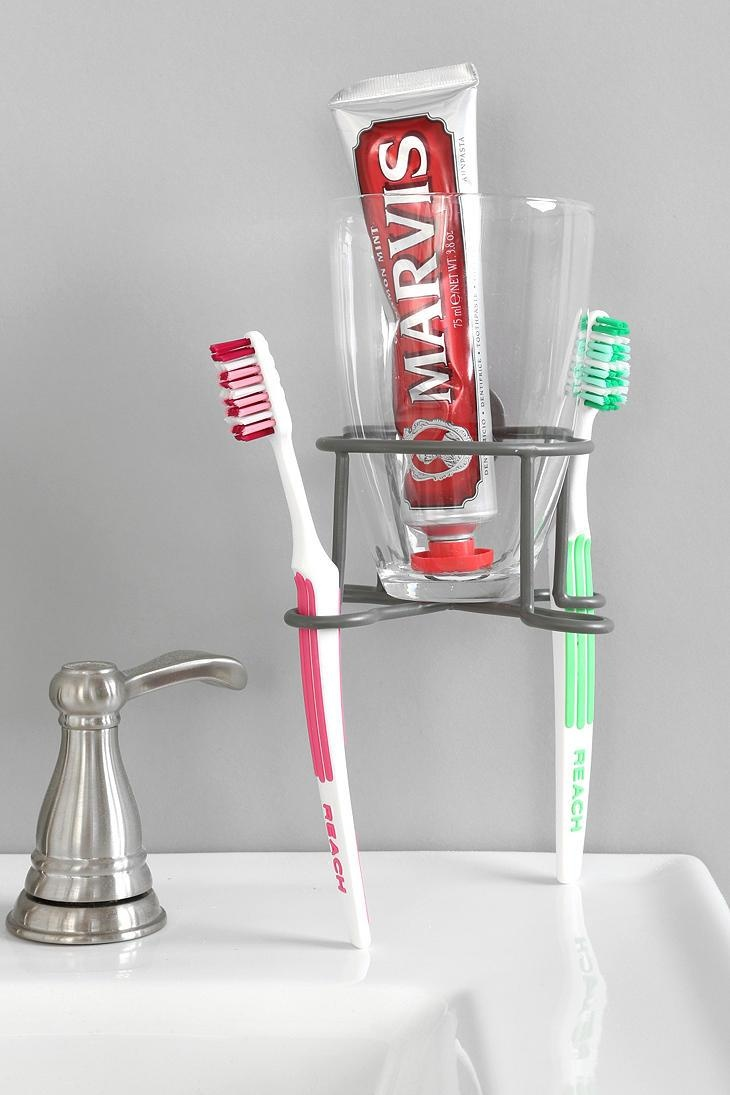 Industrial Toothbrush Holder #urbanoutfitters