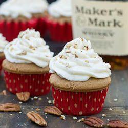 Bourbon Cupcakes.