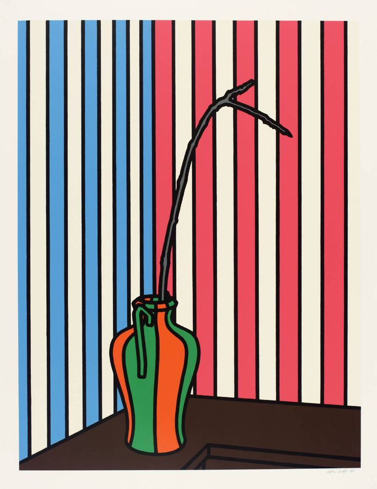 Patrick Caulfield 'Fig Branch', 1972 © The estate of Patrick Caulfield. All Rights Reserved, DACS 2014