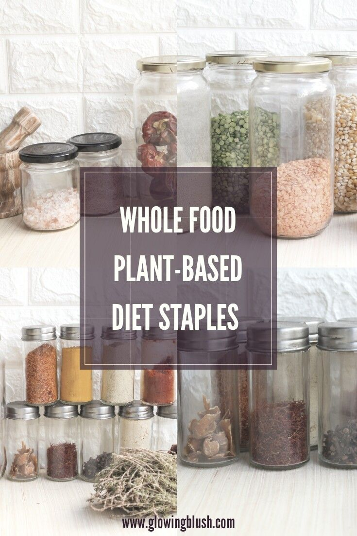pantry storage whole food plant based diet
