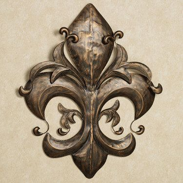 Camarillo Fleur Metal Wall Art.  Love this.