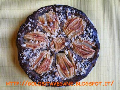 Golosità Vegane: Torta di mele al limone e semi di papavero