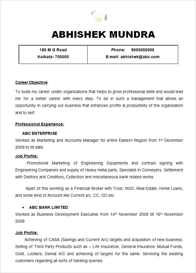 Relationship Manager Cover Letter | Tresume | Sample resume format ...
