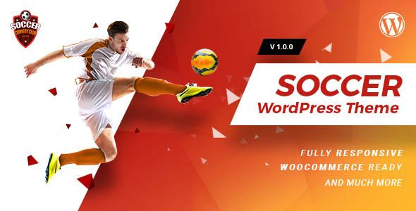 Soccerclub   Sports Club WordPress Theme  Soccerclub   Sports Club WordPress Theme is a creative, clean & modern multi-page and multipurpose template made especially for soccer spo...