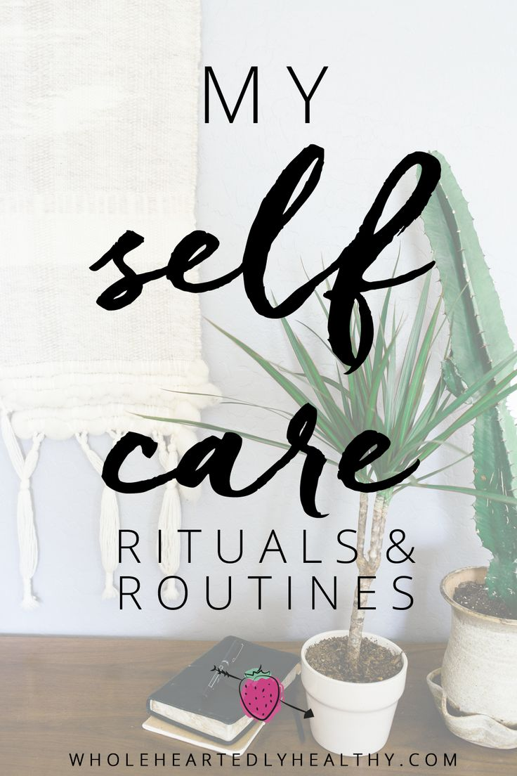 Self care means different things to different people so here's my own personal self care routines and rituals on an annual, monthly and daily basis!