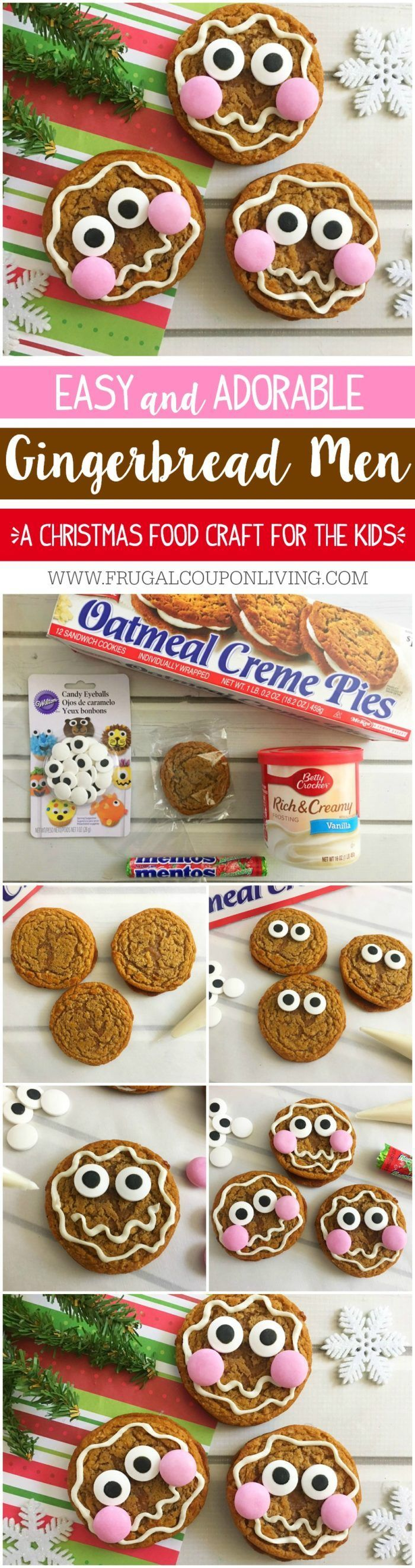 Easy Gingerbread Man Cookies on Frugal Coupon Living