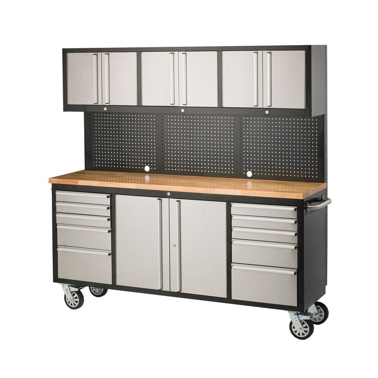 Exterior paint ideas with brick - Sandleford 1835 X 523 X 1870mm Ultimate Workstation Trolley Home