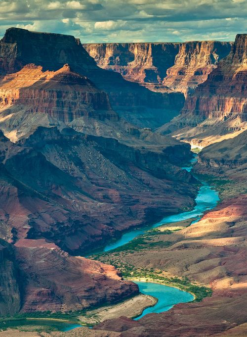 Grand Canyon, AZ. I've been here and it is absolutely stunning.