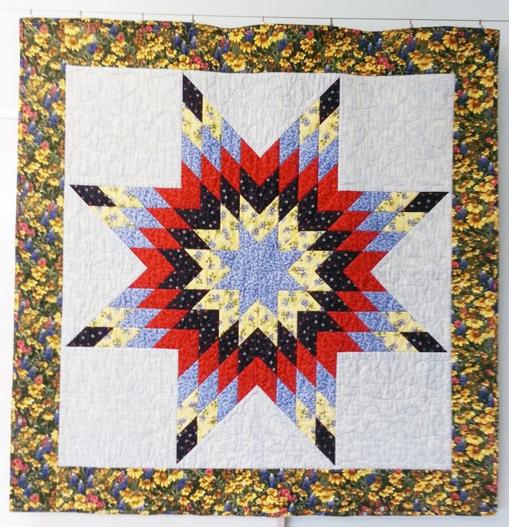 17 Best images about Quilt - Lone Star on Pinterest Quilt patterns free, Summer quilts and ...