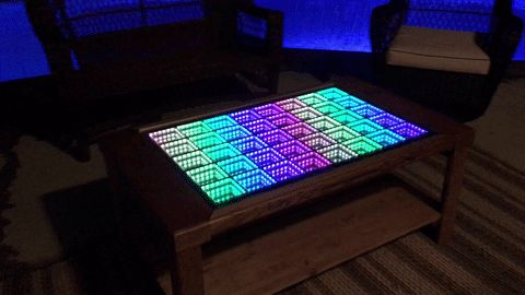 Beyond Infinity Table - the Interactive Coffee Table for the Modern Age