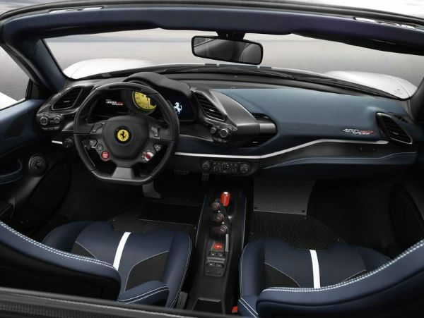 2019 Ferrari 488 Pista Interior With Images Ferrari 488