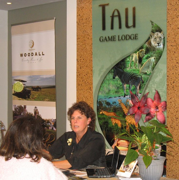Tau Game Lodge presenting at our Cape Town Workshop for Travel Agents / Tour Operators on 22 July 2014