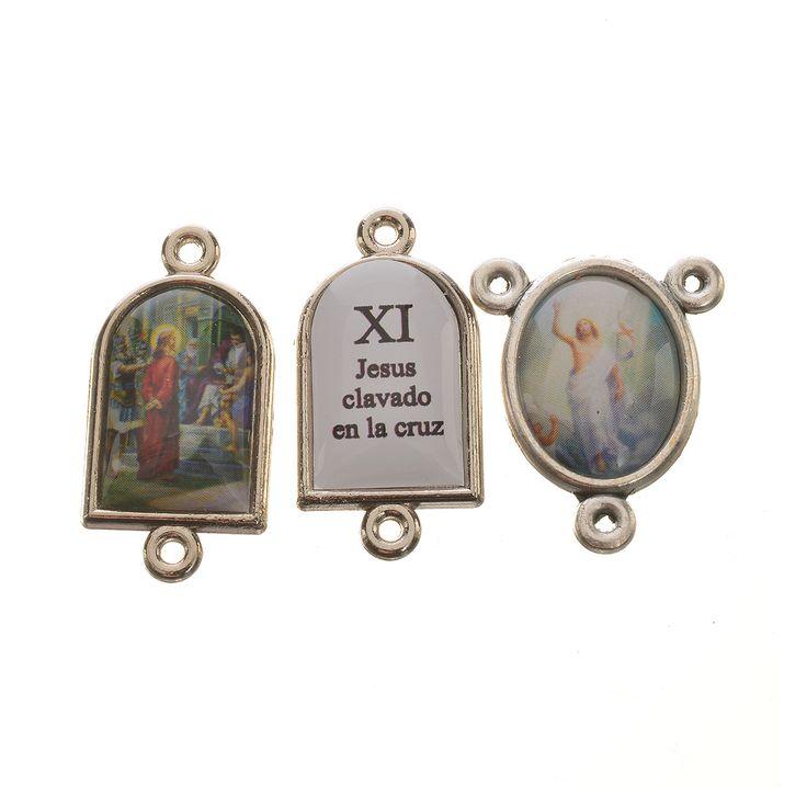 Pater e crociera Via Crucis SPAGNOLO 14 pz | vendita online su HOLYART