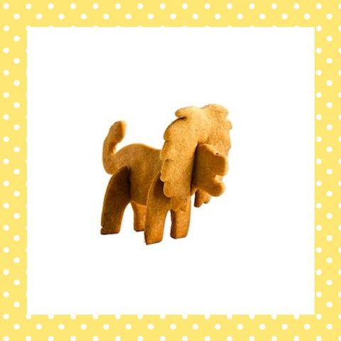 Het is toch fantastisch als je koekje 'levensecht' de lucht in gaat? Deze leeuw zet je na het bakken van de losse koekjes zo in elkaar! http://dekinderkookshop.nl/product/3d-koekvorm-leeuw/