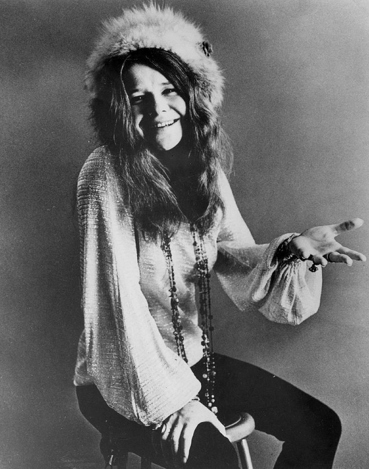 A young girl on the train puts me in mind of Janis Joplin and Woodstock.