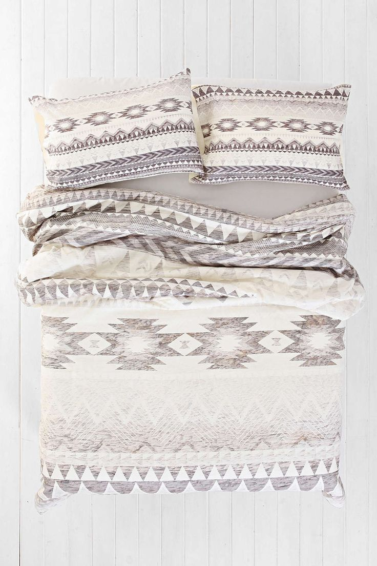 Iveta Abolina for DENY Milky Way Duvet Cover - Urban Outfitters neutral aztec for bedroom