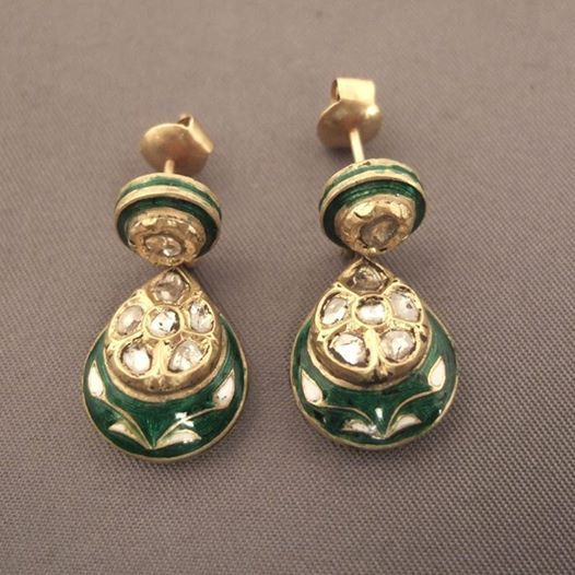 22ct Indian Gold Pendant Set 993 99: 725 Best Images About Indian Jadau Jewellery On Pinterest
