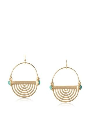 54% OFF Sparkling Sage Round Cut-Out Drop Earrings