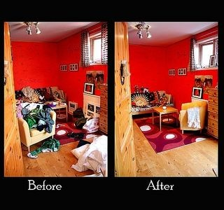 38 best images about before after on pinterest staging - Declutter before and after ...