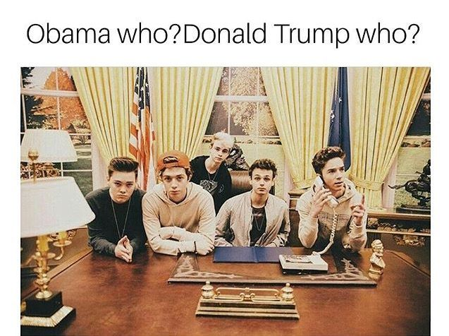 My husbands will be my president ❤️