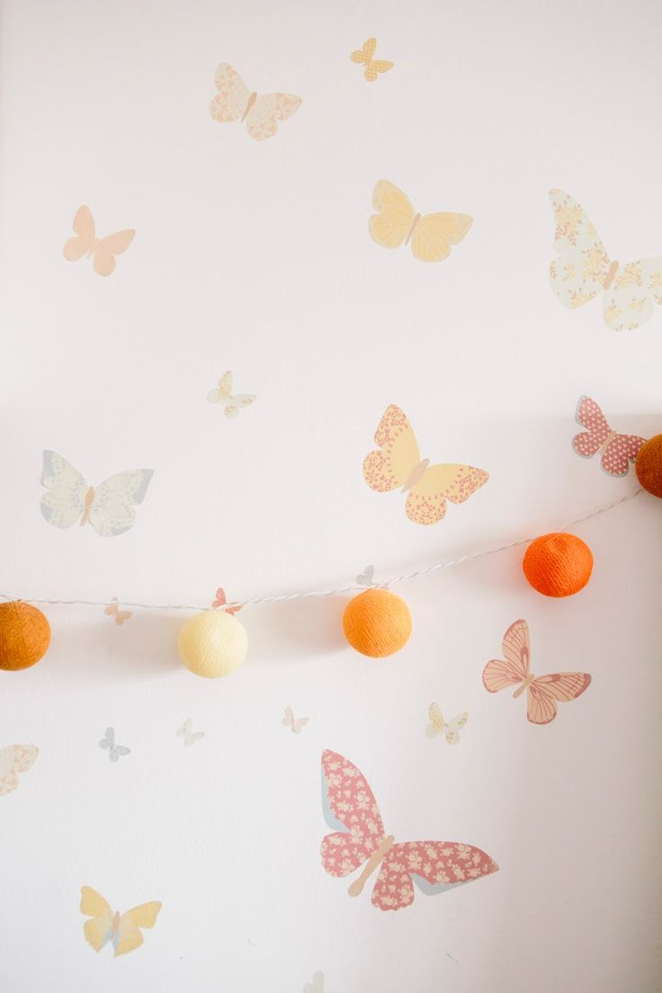 It seems that our Butterfly Wall Decals have flown all the way over to Brazil! Don't they look beautiful fluttering in this lovely girl's r...
