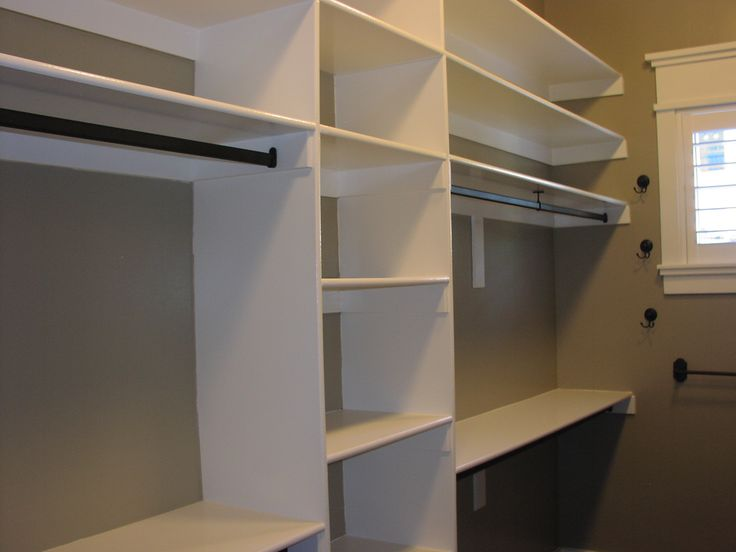 Closet Shelving Ideas Are All About Making The Most Effective Use Of  Horizontal And Vertical Spaces.