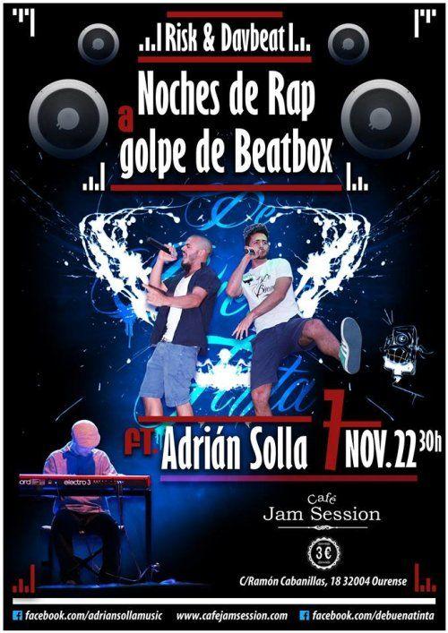 Davbeat & Risk en Cafe Jam Session, Ourense rap music musica concerto concierto