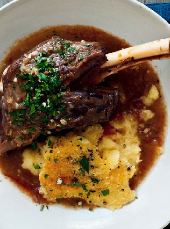 Low FODMAP and Gluten Free Recipe - Lamb shanks with olive oil mash   http://www.ibssano.com/low_fodmap_recipe_lamb_shanks_olive_oil_mash.html