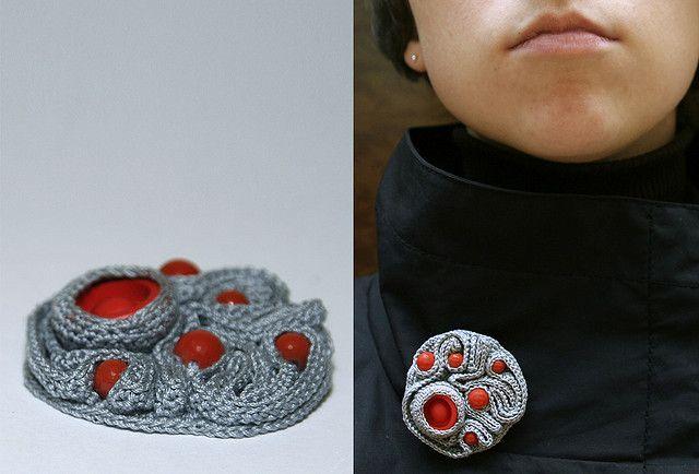 new brooch/ madame ulani flickr