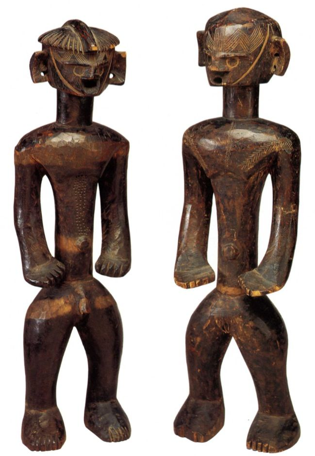 Angas Figure Fine Arts Museum of San Francisco The de Young Museum San Francisco Angas figures from Nigeria out of the shadows