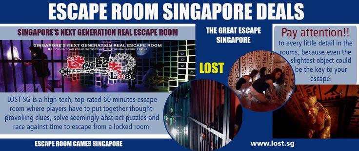 Escape Room Singapore Deals