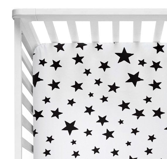 Fitted Crib Sheets Boy Toddler Bedding Boy Star Mini Crib Sheet