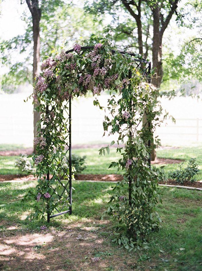 Sweet And Emotional Garden Wedding In Texas