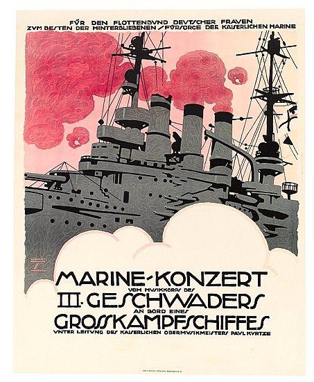1916 LUDWIG HOHLWEIN MARINE KONZERT