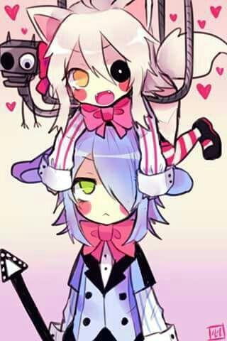 Gloomy Bear Anime Human | fnaf Foxy x Bonnie [ yaoi ] - ~especial de san valentin ~parte 2 ...