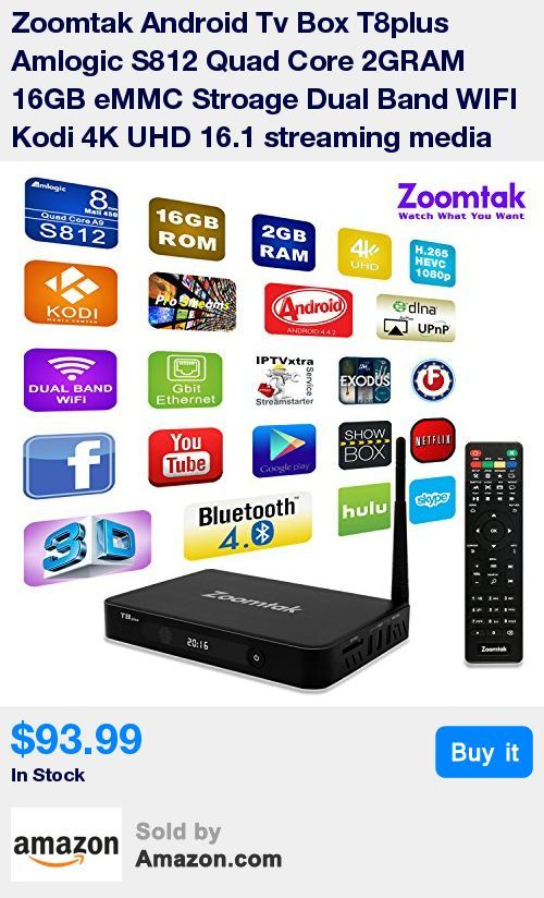 【DISCOVER THE EASIEST AND SIMPLEST WAY TO WATCH EVERYTING FOR FREE!】 Using our high tech Android 4.4 TV box you can have access to all the newly released movies, important sporting events and popular TV shows! Due to its powerful Amlogic S812 Quad-core cortex and 2GB of RAM, you will be able to enjoy high performance and lightning fast speed! Say goodbye to contracts and monthly fees once and for all! * 【DON'T HAVE A SMART TV? NO PROBLEM! 】 Our incredible streaming media player is going to m